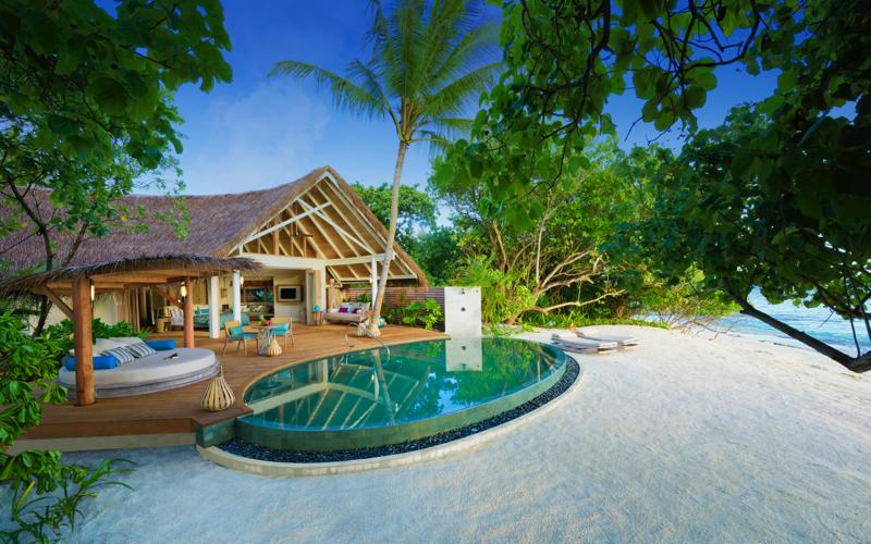 Milaidhoo Island Resort Maldives beach villa with pool