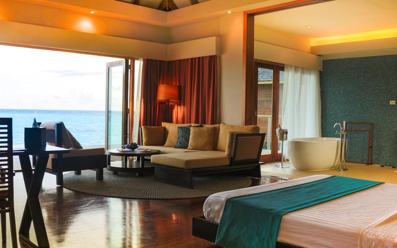 Water Villa at Vakarufalhi Island Resort Maldives