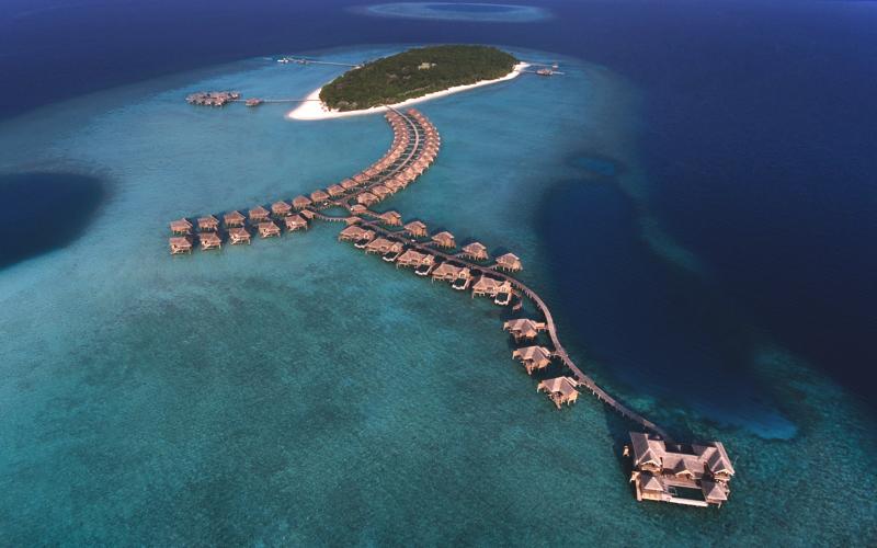 Vakkaru Maldives aerial view