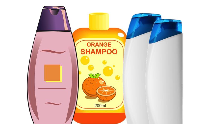 Shampoo bottles can end up on Rubbish Island Maldives