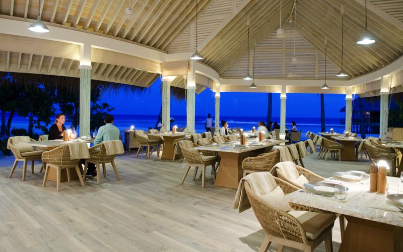 Finolhu Island Resort, baahaa grill