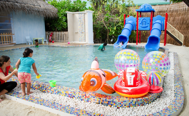 Finolhu Island Resort Oceaneers kids club