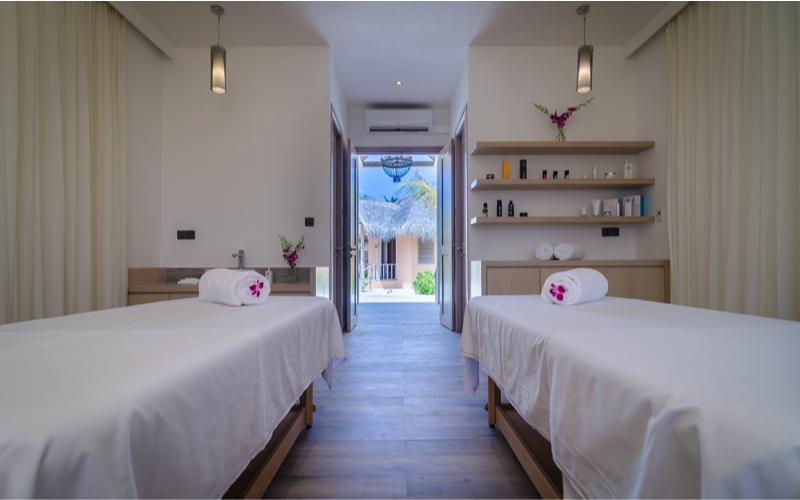 cove club spa at Finolhu Island Resort Maldives