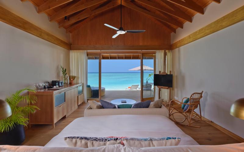 water villa on Faarufushi Island Resort, Maldives