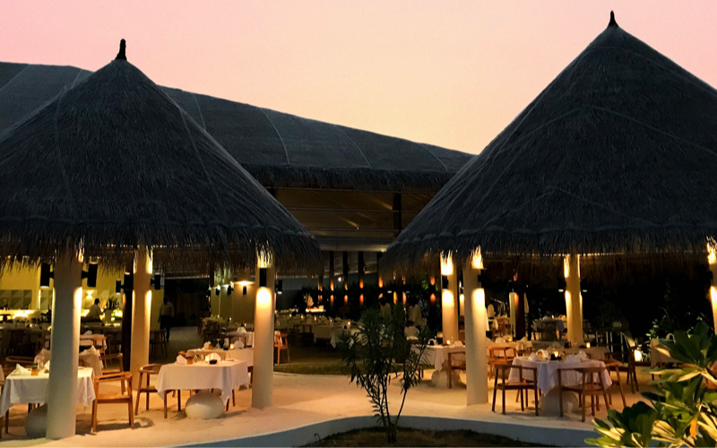 restaurant at Cocoon Maldives
