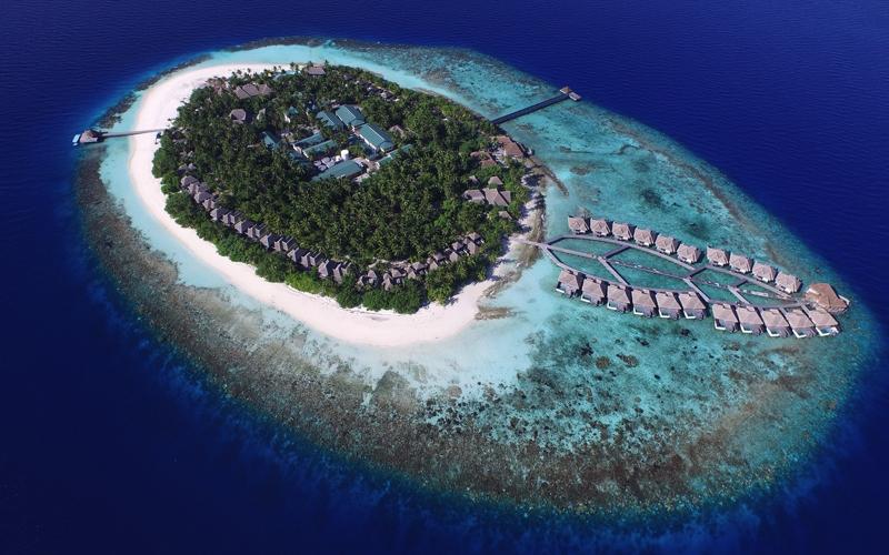 outrigger-konotta-maldives aerial view