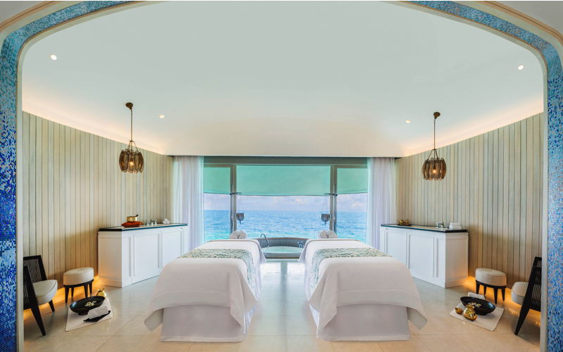 Iridium Spa at St Regis Vommuli Resort Maldives