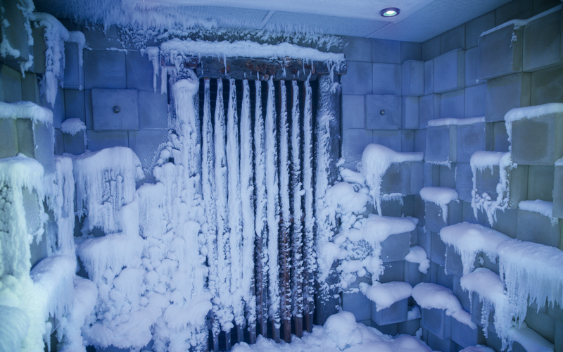 snow room at Velaa Private Island