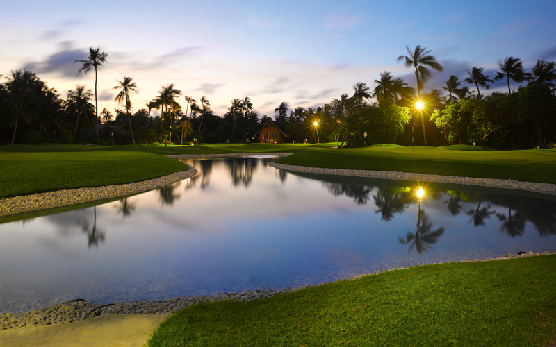 Golf academy, Maldives