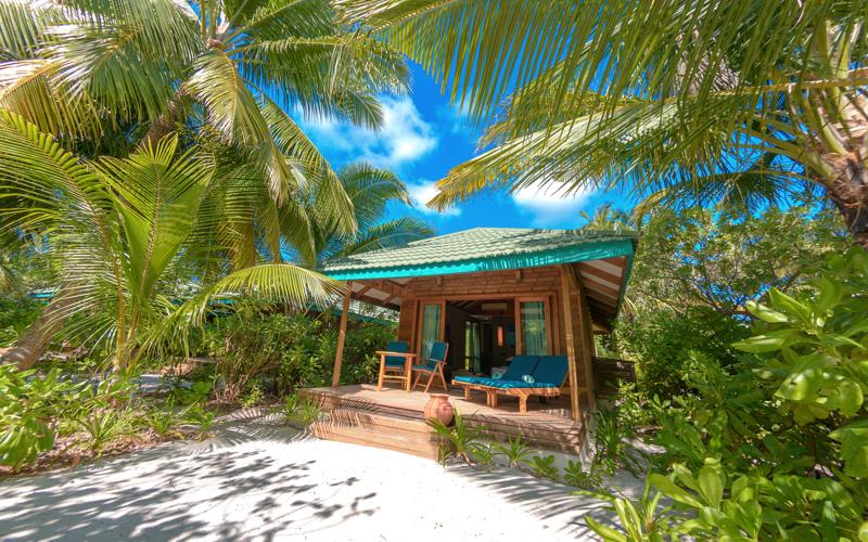 canareef resort maldives, Beach villa Maldives