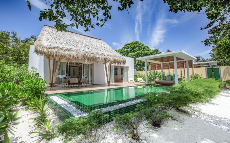 Emerald Island Maldives Beach Villa with pool