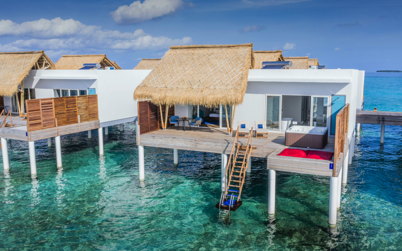 Emerald Island Resort Maldives water villas