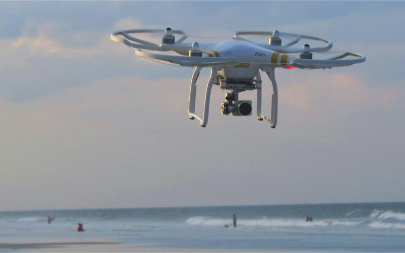 Drones in the Maldives
