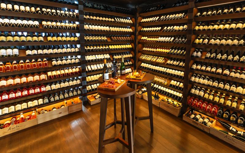 Kudadoo Wine cellar