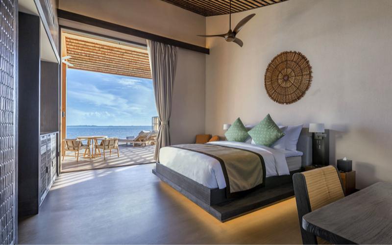 Kudadoo residence interior, Maldives