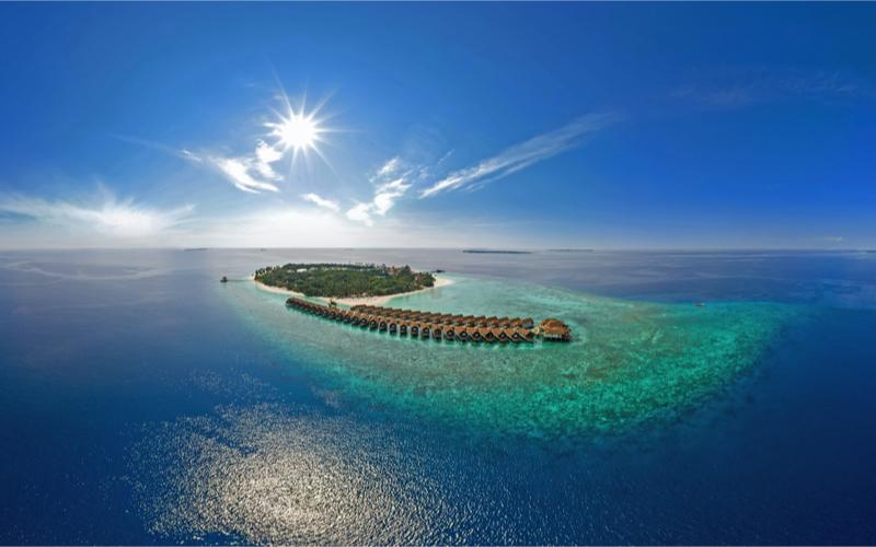Reethi Faru Island Resort water villas