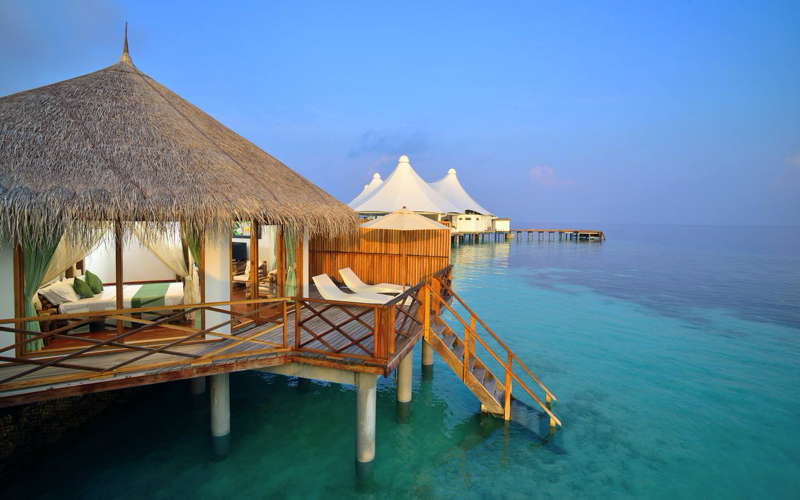 Safari Island Resort water villa, Maldives