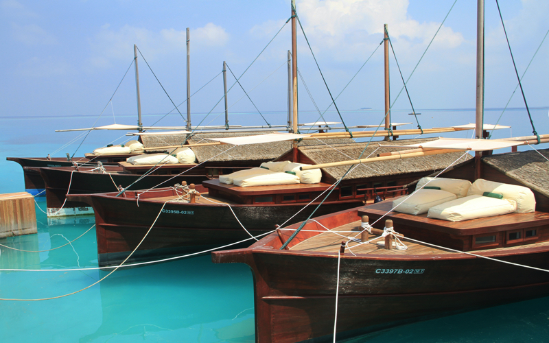safari boats, Maldives