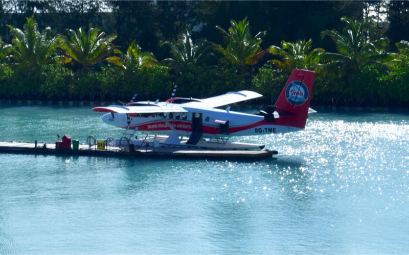 Seapolane transfers in Maldives