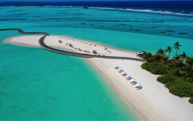 Soneva Jani Resort Beach
