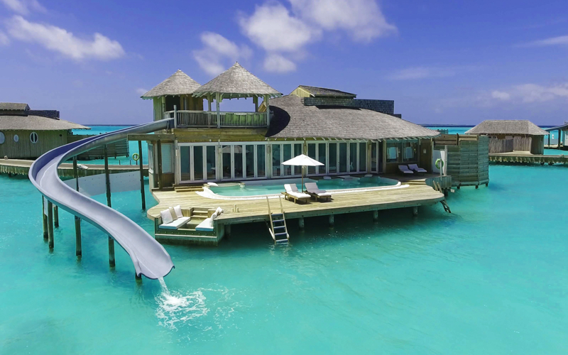 Soneva Jani Resort water villa