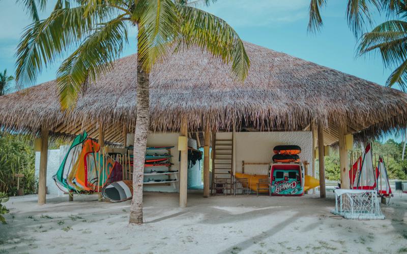 Soneva Jani Resort, Maldives, Watersports centre
