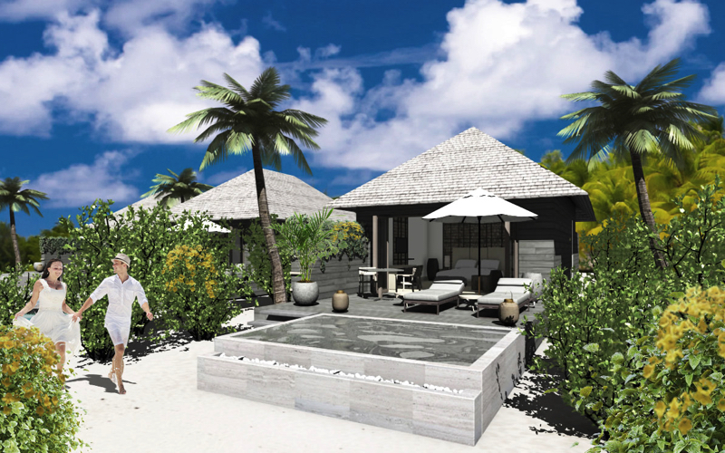 Beach Villa at Kagi Spa Resort, Maldives