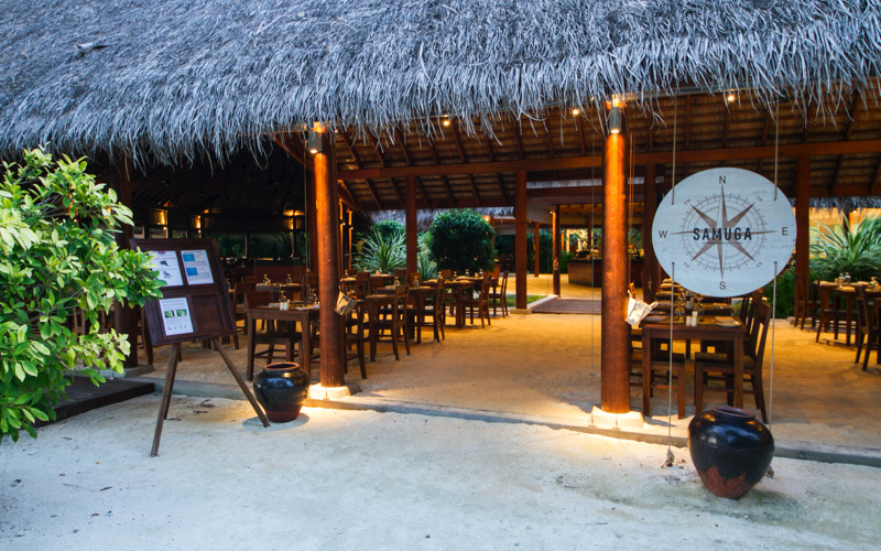 Sanuga Restaurant on Summer Island