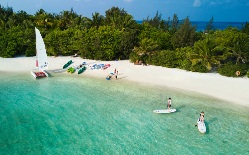 Watersports AT Summer Island Resort