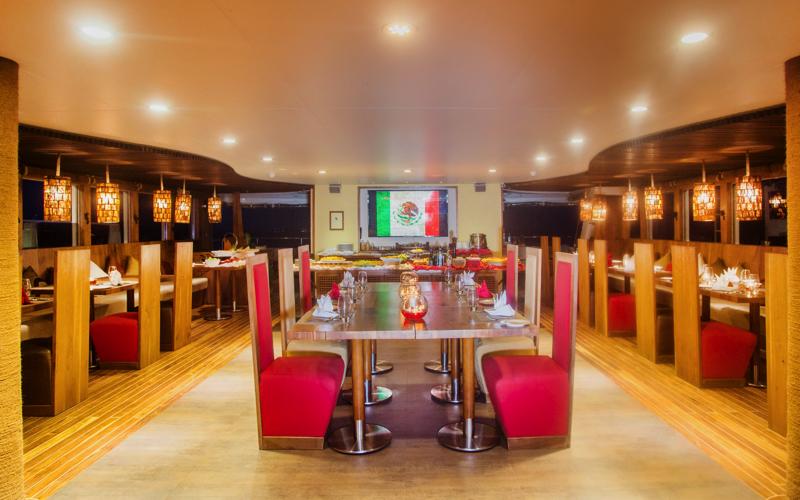 Scubaspa Maldives restaurant