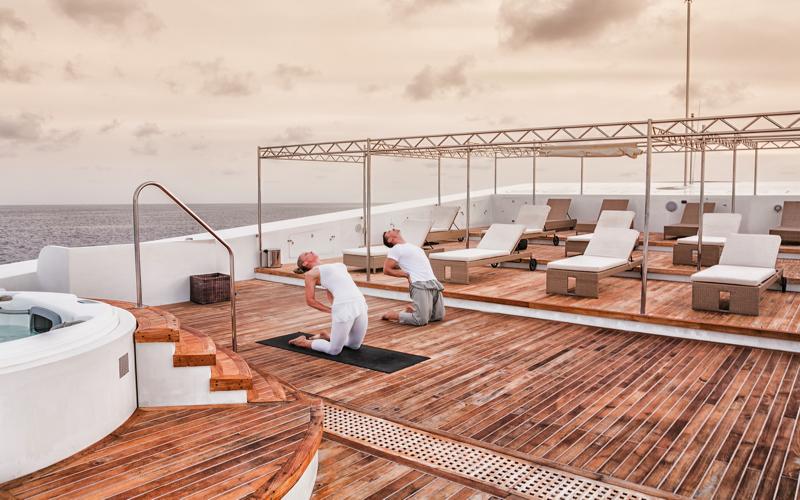 Scubaspa Yacht - Yoga