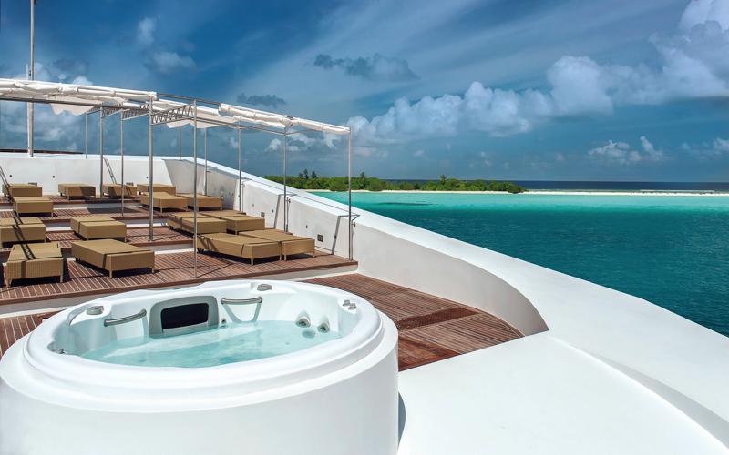 Scubaspa Maldives Liveaboard - sUNDECK