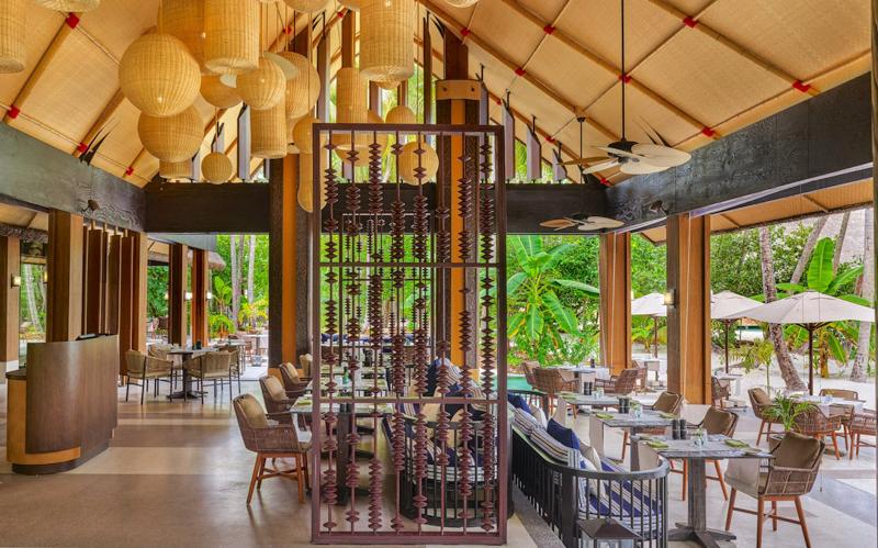 Joali Island Resort restaurant