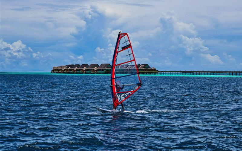 water sports at Joali Maldives Island