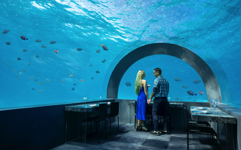 Cocoon You and Me H2O restaurant