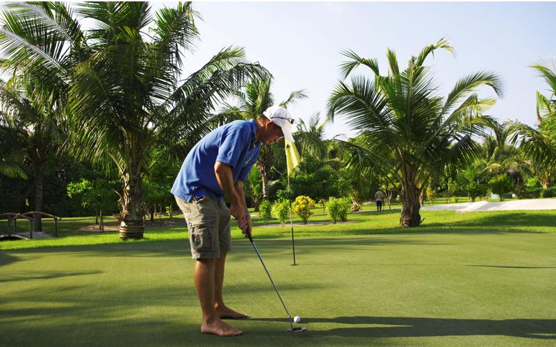 Golf at Kuredu
