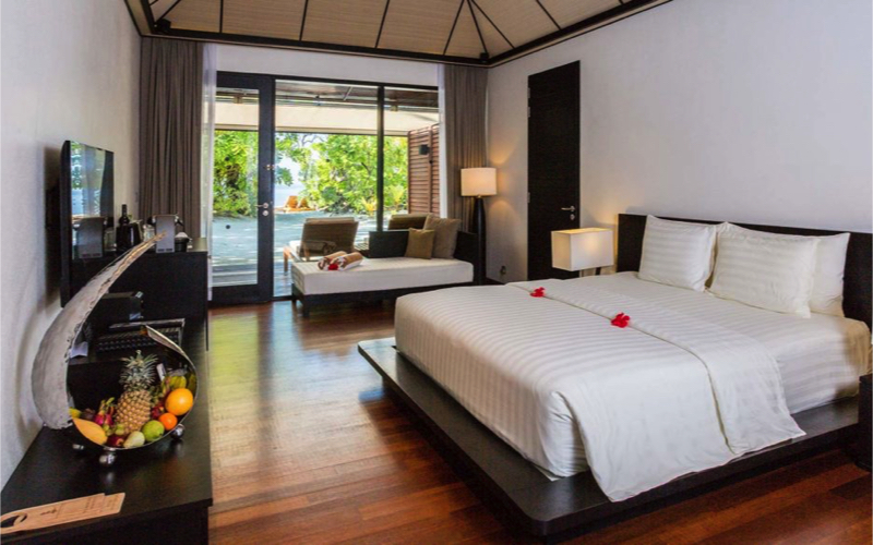 interior of villa at Lily Bach Resort