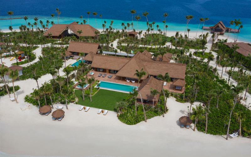 Waldorf Astoria Maldives Ithaafushi private island escape