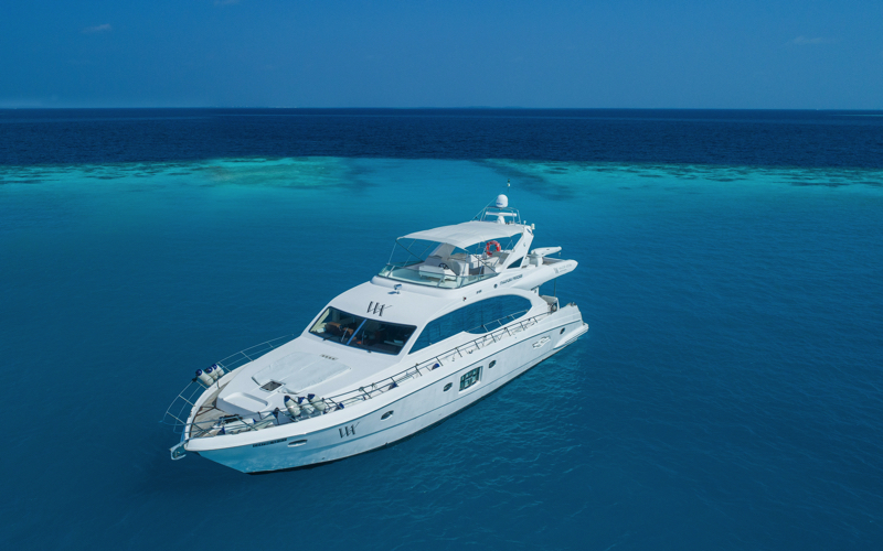 Waldorf Astoria Princess yacht