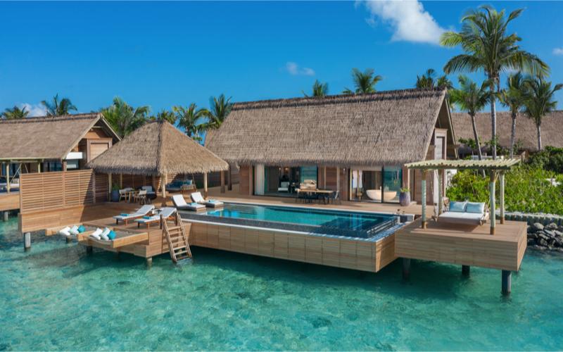 2 bedroom reef villa, Maldives