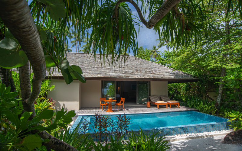 Deluxe Beach Villa in Maldives, Residence Dhigurah
