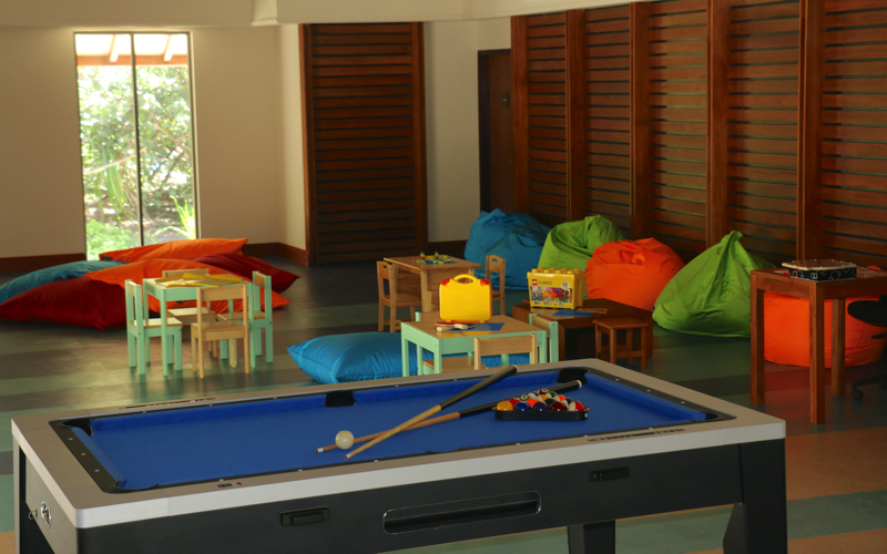 Turtle kids club at The Residence Dhigurah