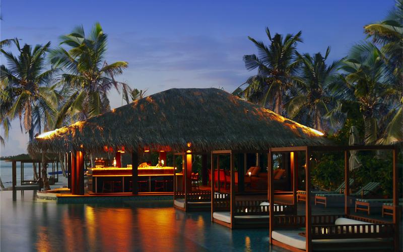 Beach Bar at The Residence Falhumaafushi, Maldives