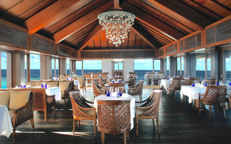Falhumaa restaurant, Maldives