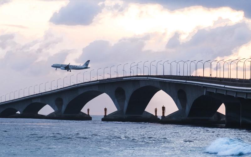 Velana Airport Bridge to Male