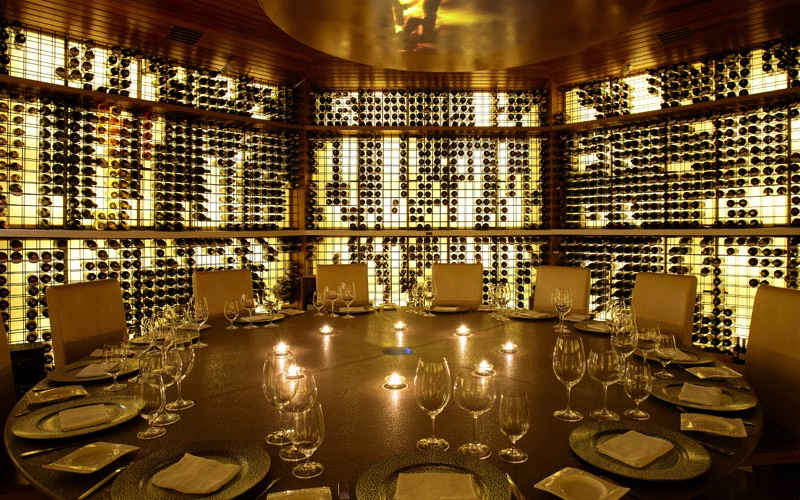Vinium Wine cellar, Maldives