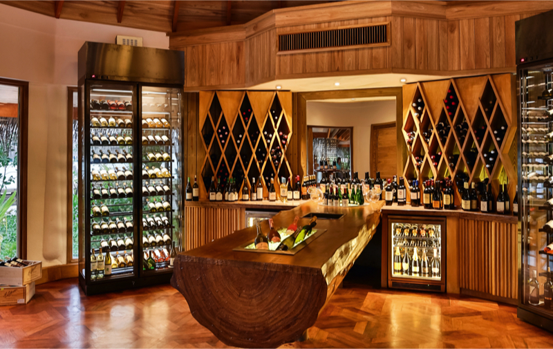 Shoreline Grill Wine Room