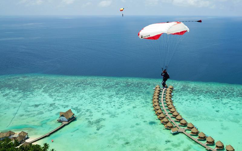 Landing at your resort