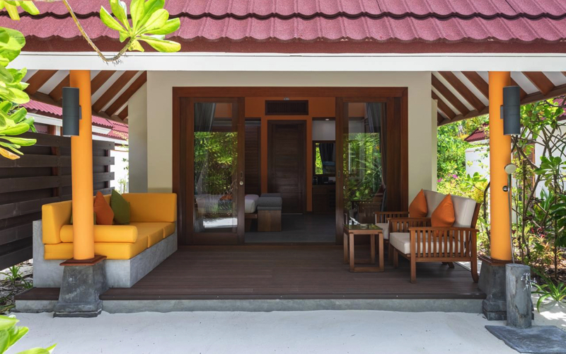 Beach Villa at Dhigufaru Island Resort Maldives