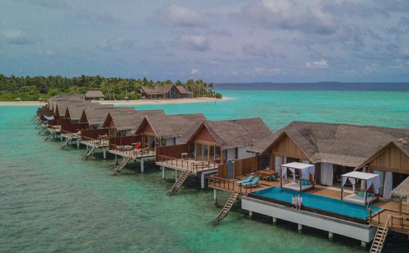 Furaveri Island Resort water villas